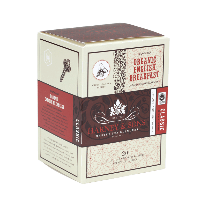 Organic English Breakfast - Harney & Sons Teas, European Distribution Center