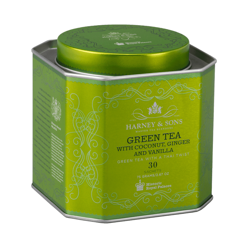 Green Tea with Coconut & Ginger Harney and Sons