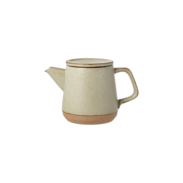 Kinto CLK-151 teapot 500ml beige - Harney & Sons Teas, European Distribution Center