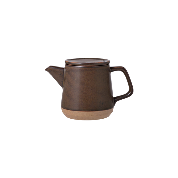 Kinto CLK-151 teapot 500ml brown - Harney & Sons Teas, European Distribution Center