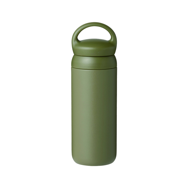 Kinto DAY OFF TUMBLER 500ml khaki - Harney & Sons Teas, European Distribution Center
