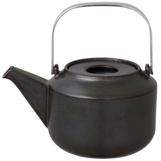 Kinto LT teapot 600ml black - Harney & Sons Teas, European Distribution Center