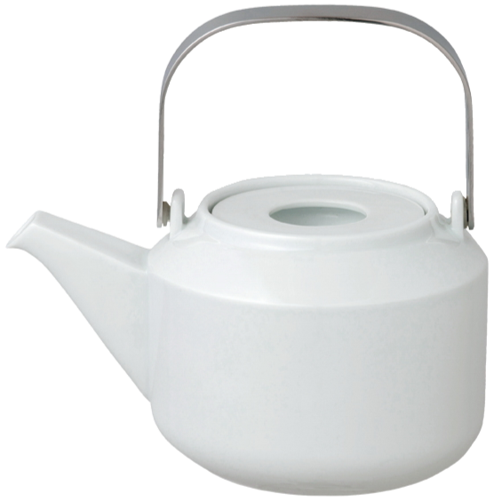Kinto LT teapot 600ml white - Harney & Sons Teas, European Distribution Center