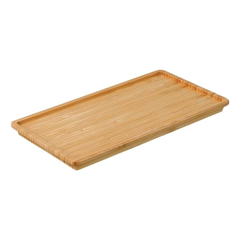 Kinto LT tray 275x145mm bamboo - Harney & Sons Teas, European Distribution Center