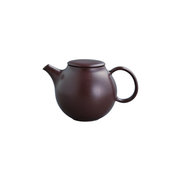 Kinto PEBBLE teapot 500ml brown - Harney & Sons Teas, European Distribution Center