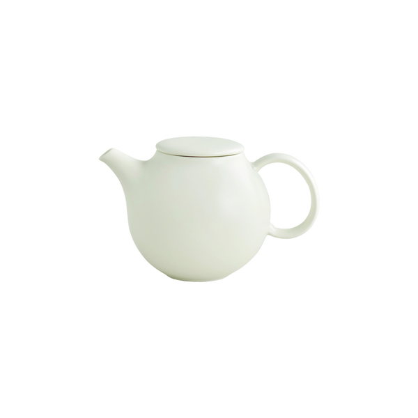 Kinto PEBBLE teapot 500ml white - Harney & Sons Teas, European Distribution Center