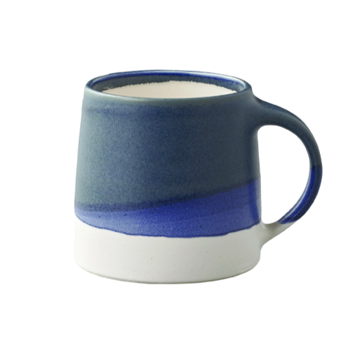 Kinto SCS-S03 mug 320ml navy x white - Harney & Sons Teas, European Distribution Center