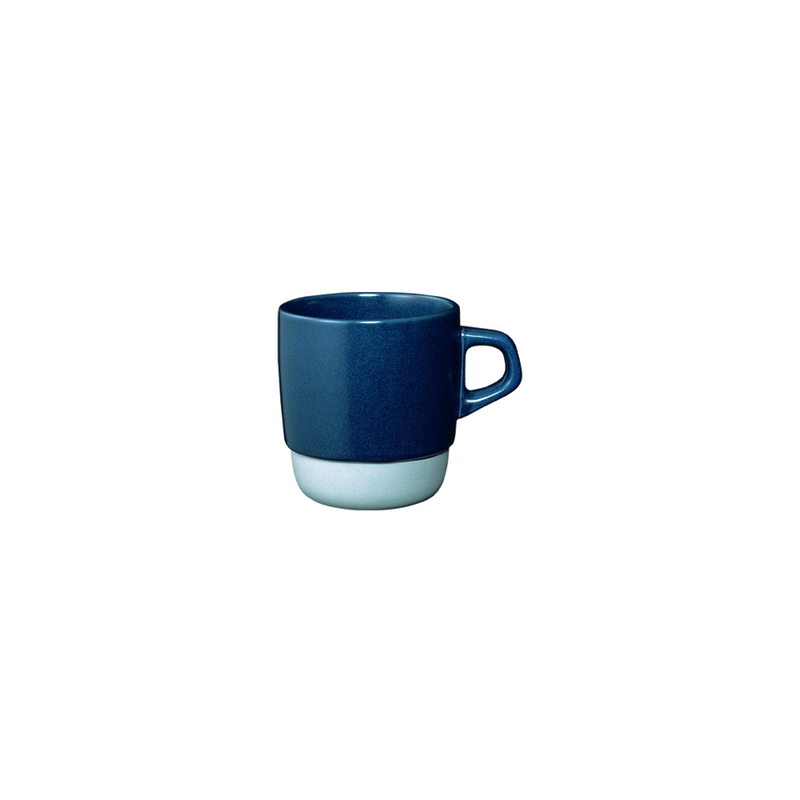 Kinto SCS stacking mug 320ml navy - Harney & Sons Teas, European Distribution Center
