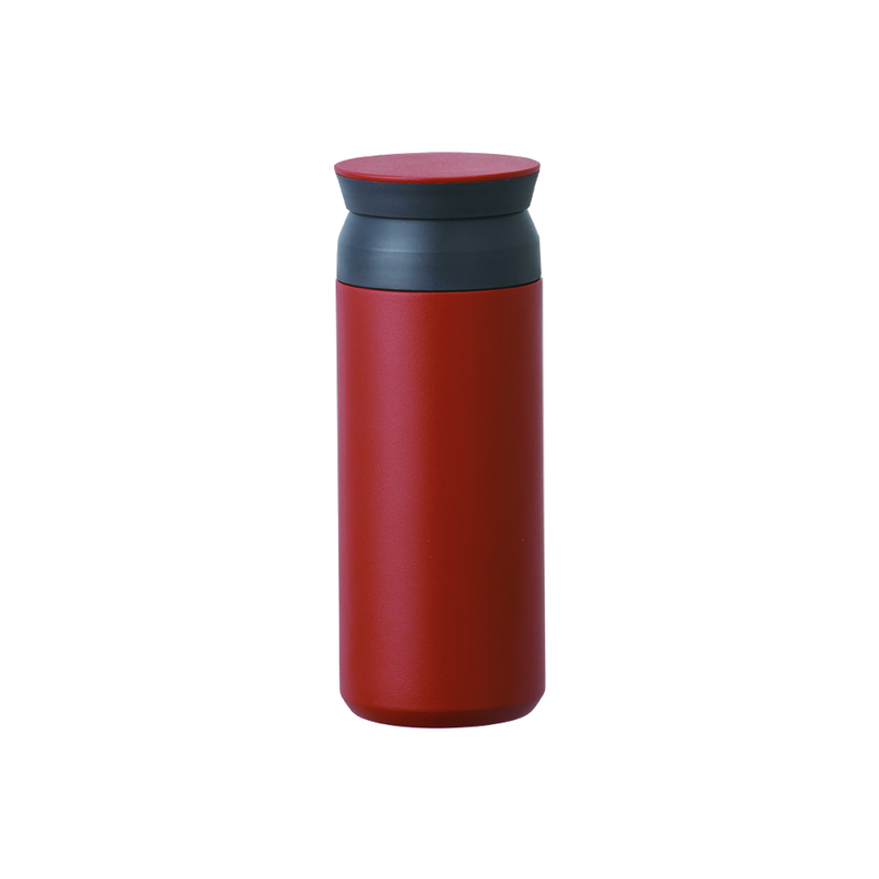 Kinto TRAVEL TUMBLER 500ml red - Harney & Sons Teas, European Distribution Center