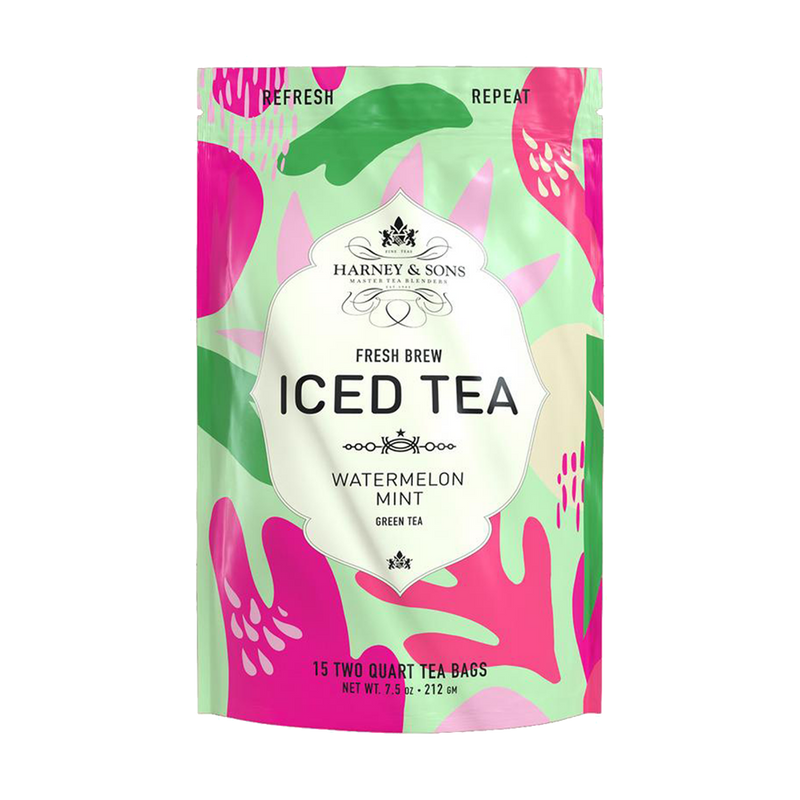 Watermelon Mint Iced Tea - Harney & Sons Teas, European Distribution Center