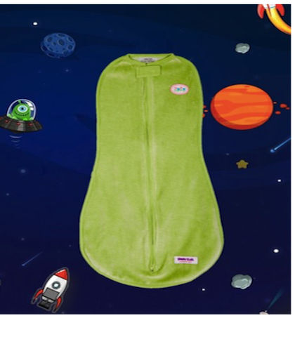 Swaddle- Light Green Velvet