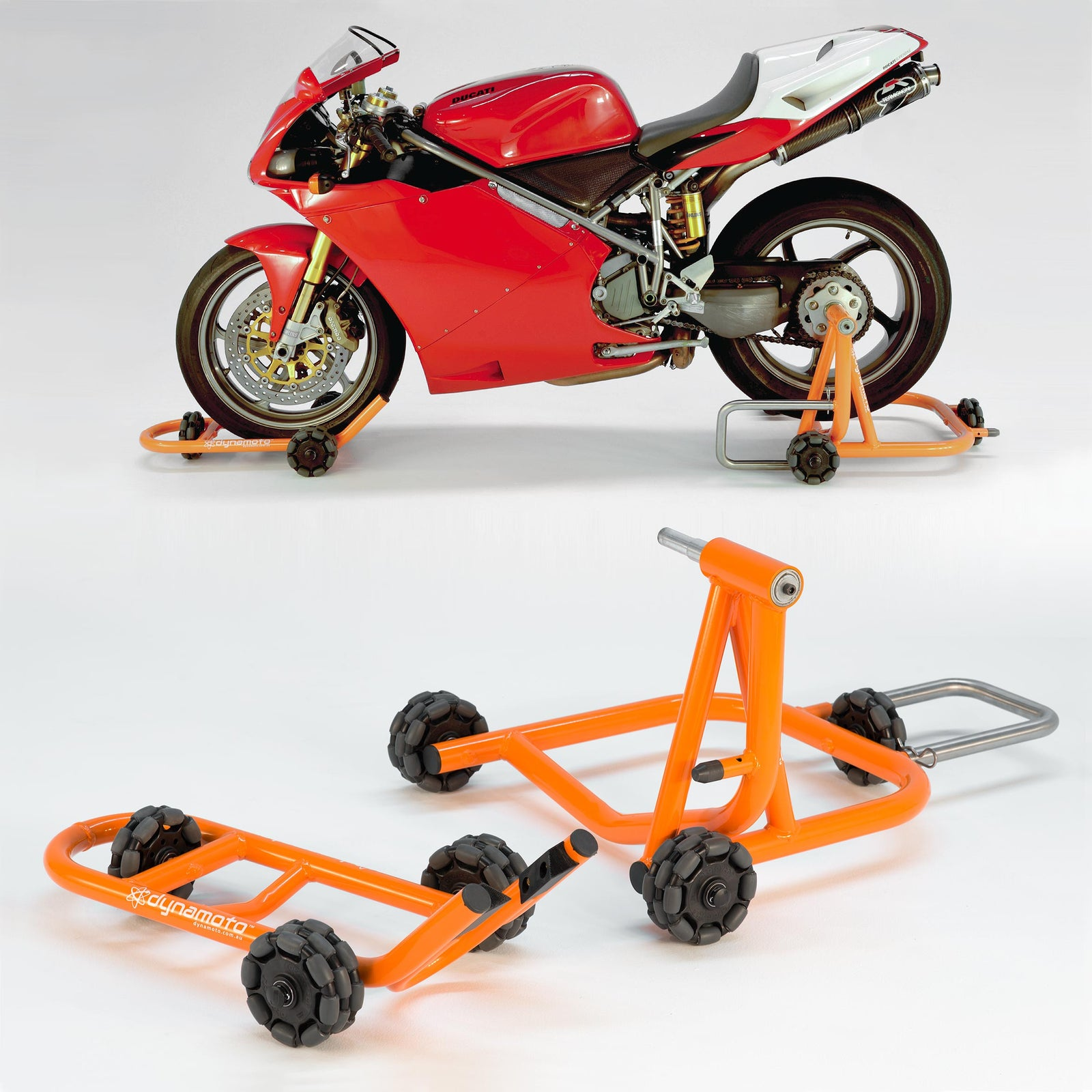 PRO MOTORCYCLE MOTORBIKE CENTRE STAND MOVER 360 GARAGE WORKSHOP HOME DOLLY