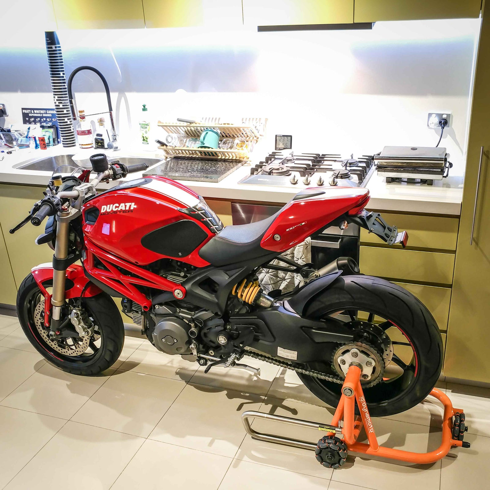 Dynamoto Movable Motorcycle Stands
