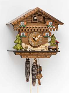 Black Forest Cuckoo Clock - Chalet Cottage - Cuckoos Nest