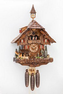 Black Forest Cuckoo Clock - Chalet Style - Musical Grande *** - Cuckoos Nest