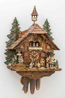 Black Forest Cuckoo Clock - Chalet Style - Octoberfest - Cuckoos Nest