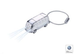 Keyring with LED light (white) LIGHT BULLI T1 1962 - Cuckoos Nest