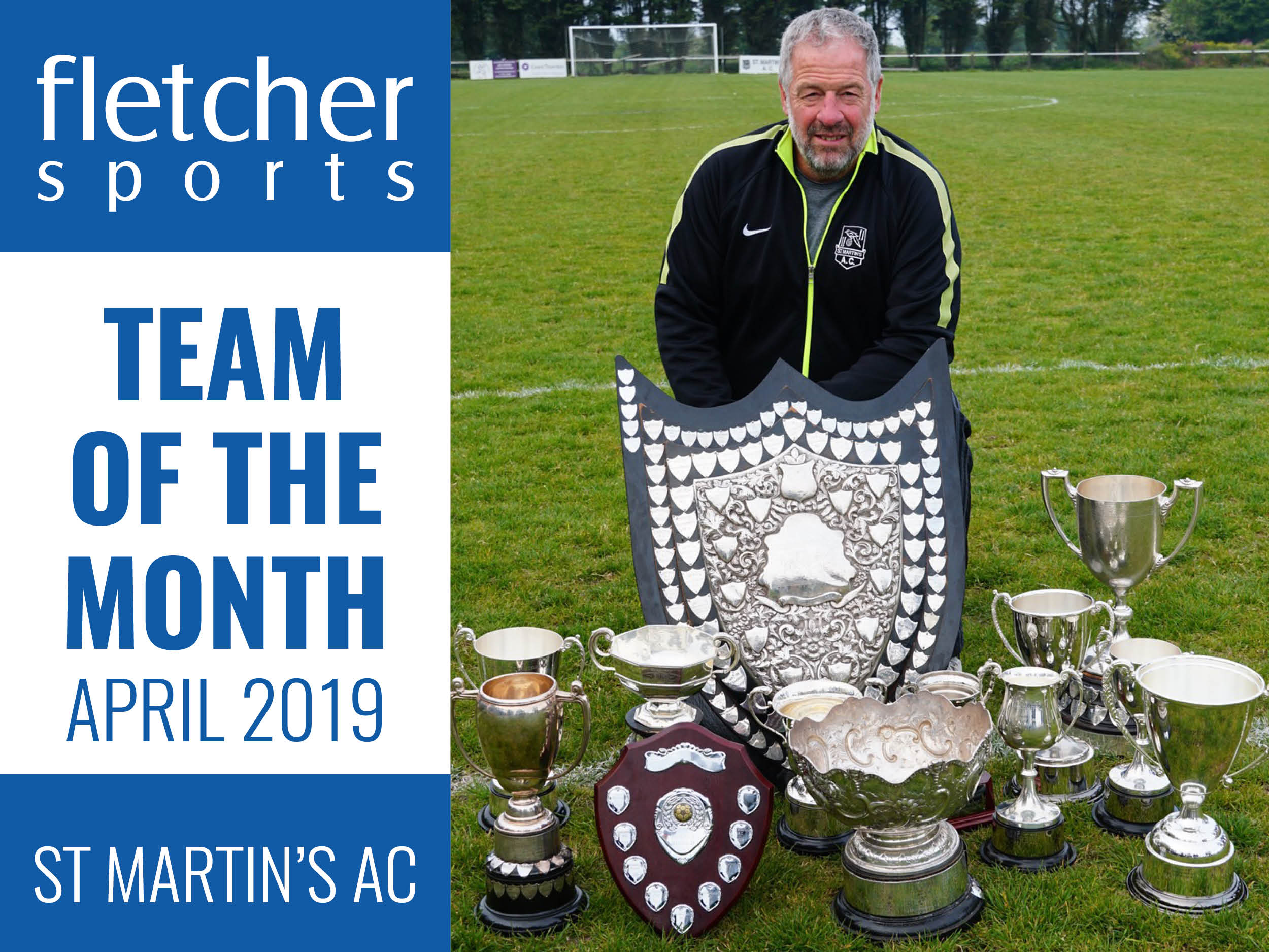 Team of the Month for April - St Martin's AC