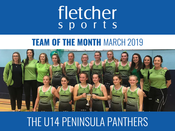 Team of the Month for March - The U14 Peninsula Panthers