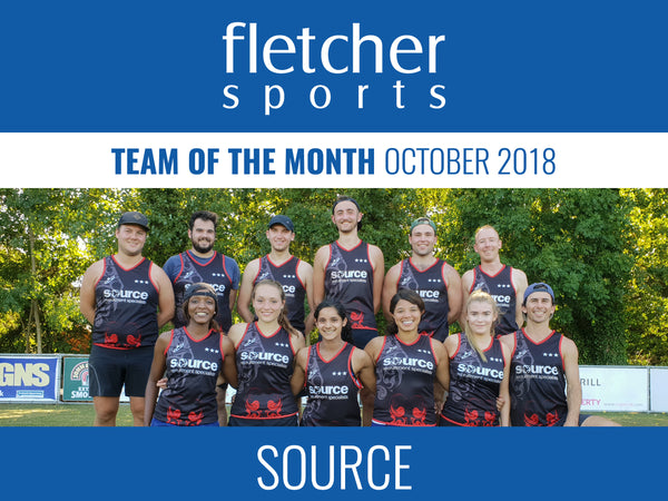 Fletcher Sports Team Of The Month - October