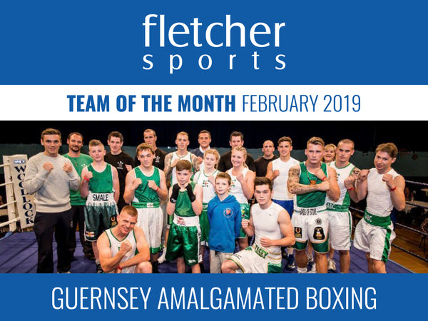 Team of the Month for February - Guernsey Amalgamated Boxing Club