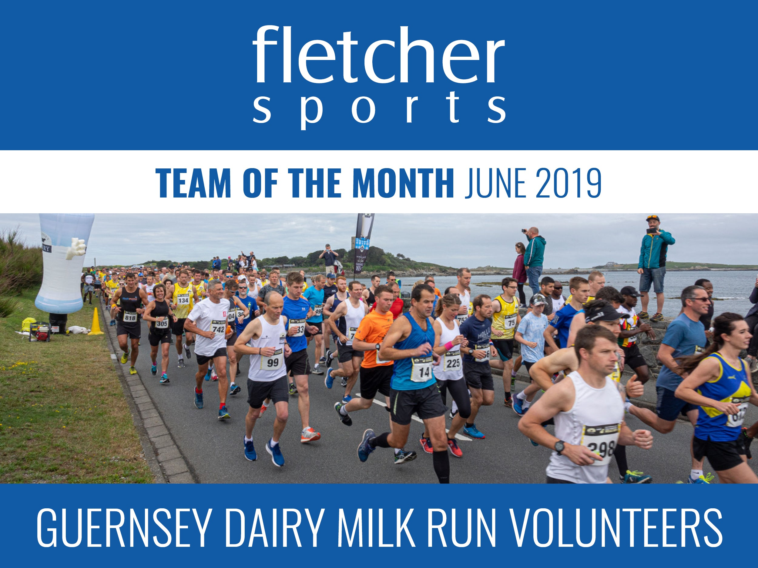 Team of the Month for June - Guernsey Dairy Milk Run Volunteers