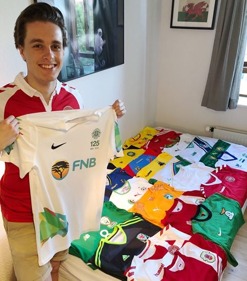 Fletcher Sports helps collector source Guernsey shirt