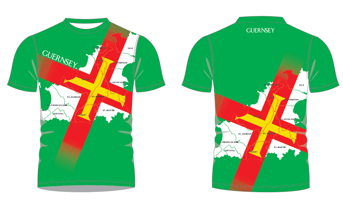 Design a Team Guernsey T-shirt