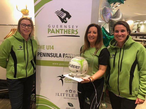 Peninsula Panthers U14s launch new kit