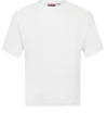 White Interlock T Shirt