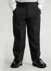 Black Junior Sturdy Fit Trouser