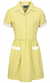 Ayr Button Front Corded Gingham Dress