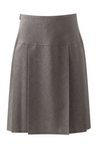 Grey Henley School Skirt