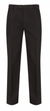 Flat Front Charcoal Trousers