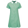 Green Avon Zip-Fronted Corded Gingham Dress