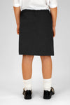 Black Junior Two Pocket Skirt