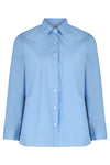 Blue Long Sleeve Easycare School Blouse