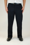 Sturdy Fit Navy Trousers