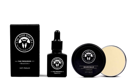 Freshman Beard Oil & Vanilla Balm Bundle -  -The Beard Gear Co.