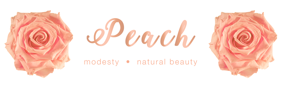 Peach Rose - Colour Meaning