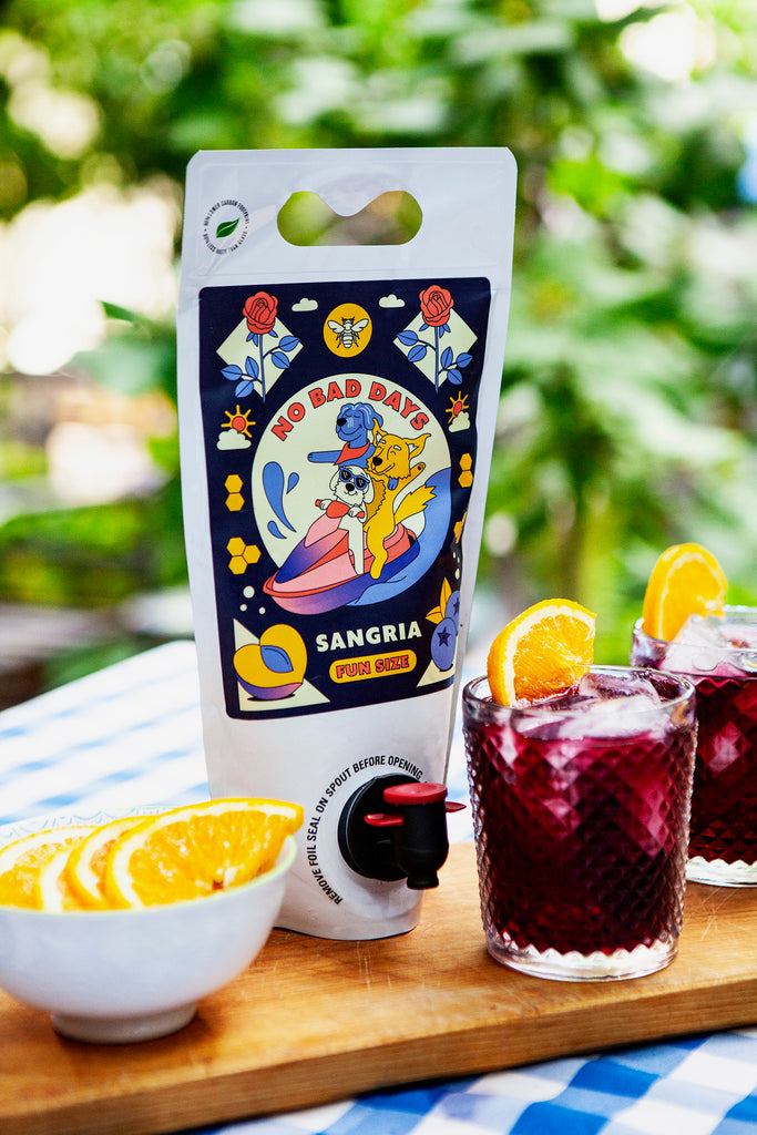 Willibald X Rosewood - No Bad Days Red Wine Sangria Fun Size - Willibald