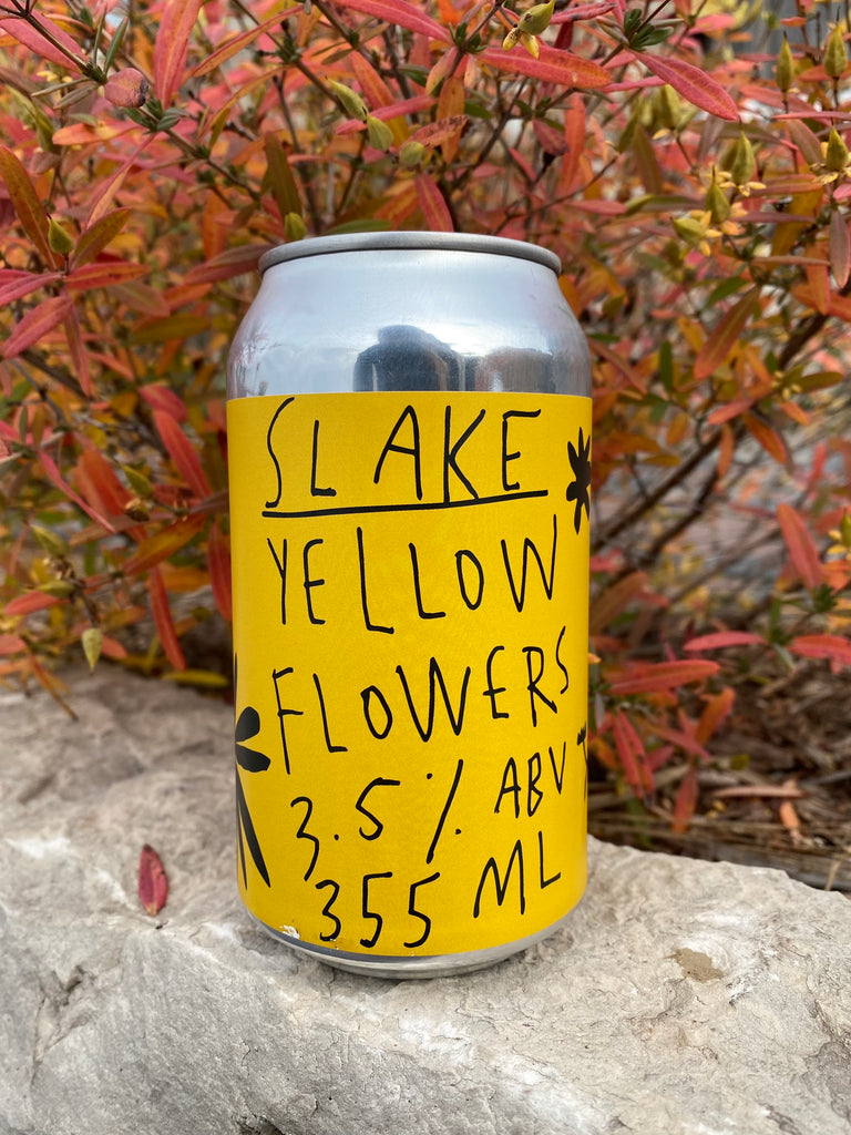 Slake Brewing - Yellow Flowers (Table Beer) - Willibald