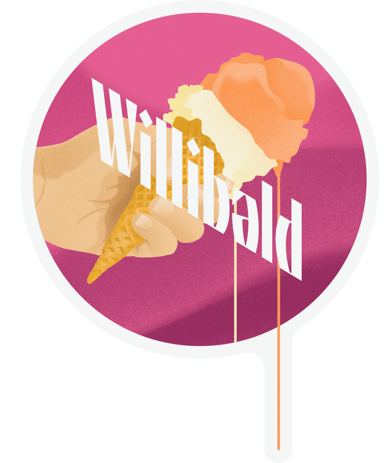 MILKHOUSE DIPA Sticker - Willibald