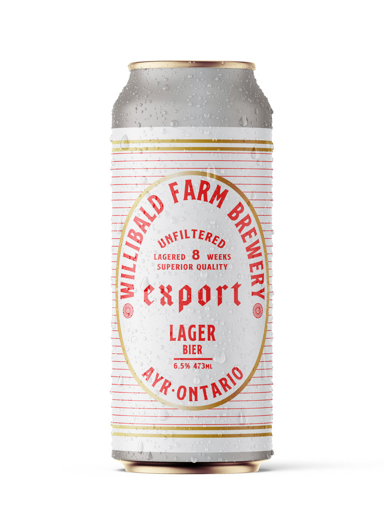 EXPORT LAGER - Willibald Farm