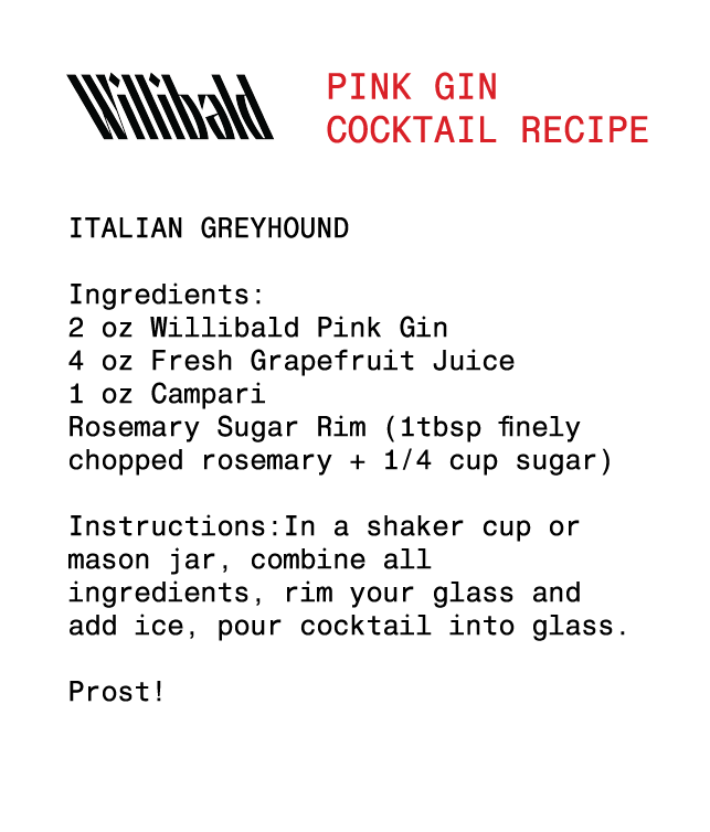 Pink Gin - Willibald