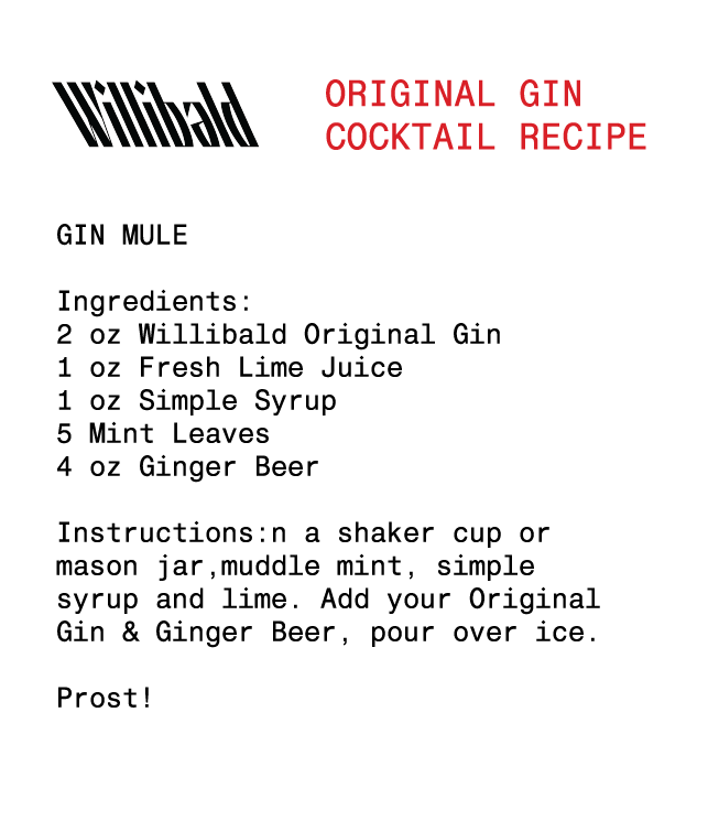 Original Aged Gin - Willibald