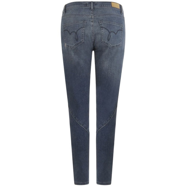 Coster Copenhagen Relaxed Jeans in 7/8 length Jeans Indigo blue - 534