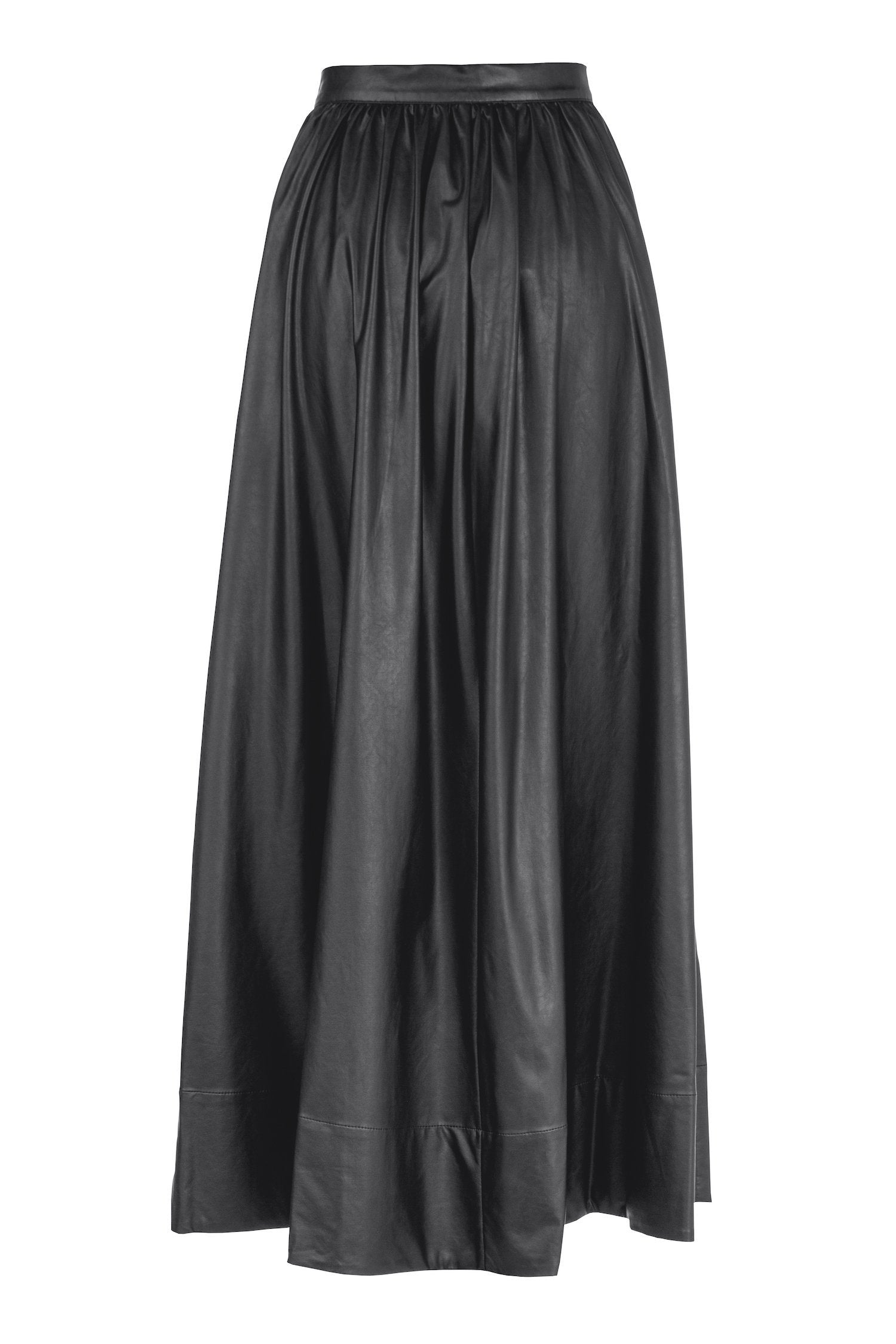 Bell Skirt Vegan Leather Black Deitas Skirts