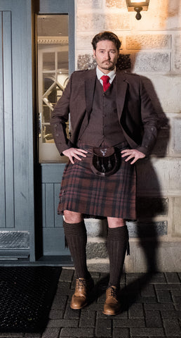 Brown Holyrood Outfit