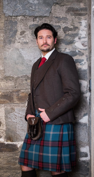University of Edinburgh Tartan Handstitched Kilt